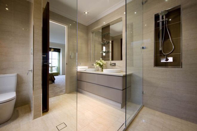 Beautifully textured tiles from Beaumont Tiles can add instant luxury and style to your bathroom