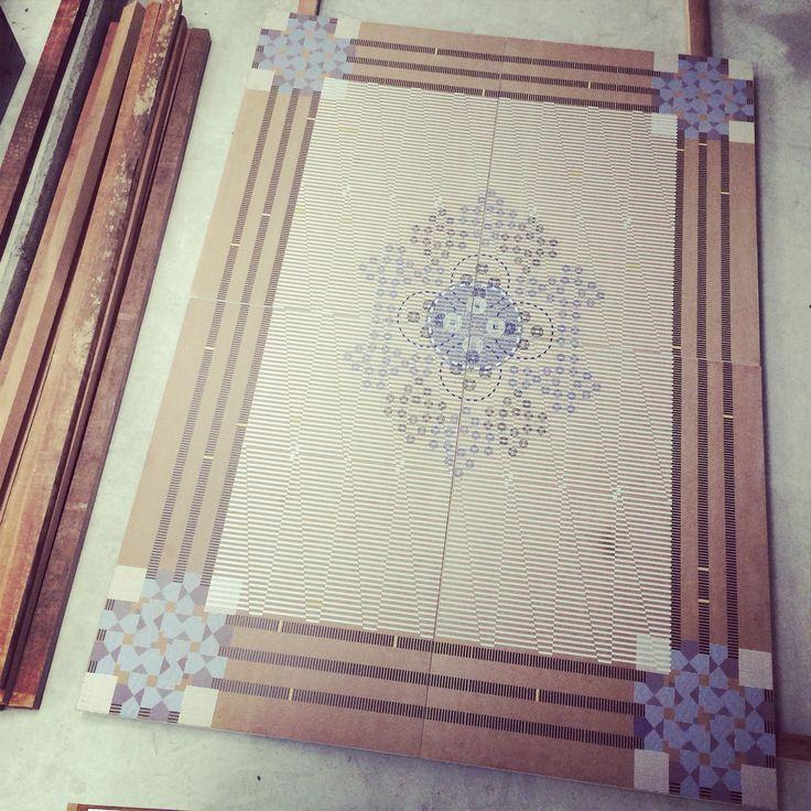 #nostringsattached wooden carpet #design #yousef.