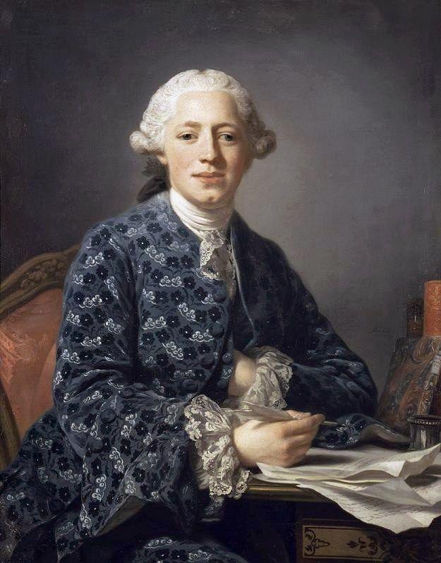 1758 Alexander Roslin - Baron Thure Leonard Klinckowström: