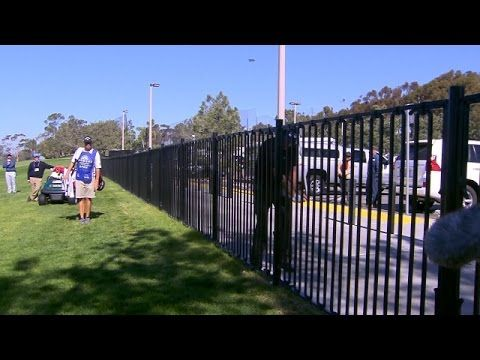 Phil Mickelson's fence encounter at Farmers Insurance Open - PGA Tour Videos