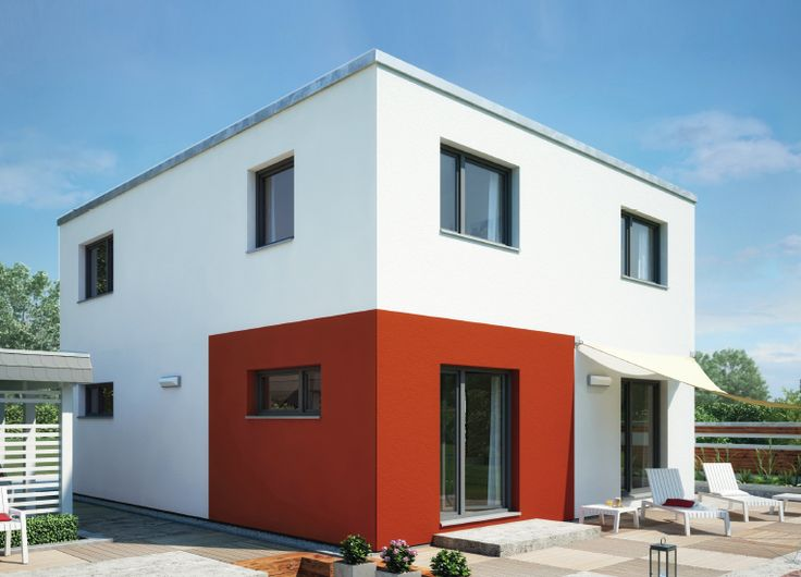 Energy-saving house Cubus 134