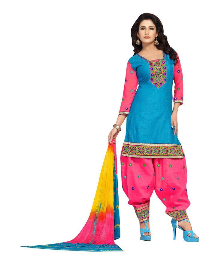 Hey Girls , buy now our Patiyala Designer Salwar #Suit Collection .