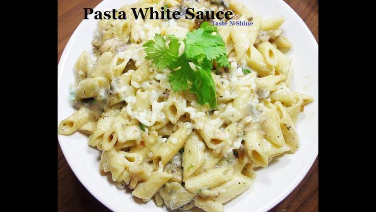 Pasta in White Sauce Penne White Sauce  Italian Pasta easy to make recipe