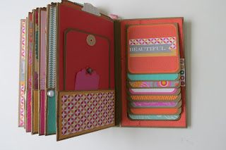 Scrapbooking in Kamloops - Scrapperchic: Dream Pop Mini Album - idea pagina album