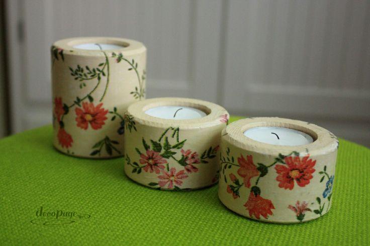 """Świeczniki """"Kwiaty jak malowane"""" są doskonałą i trwałą ozdobą pomieszczenia. Z wymiennymi wkładami. Idealne na prezent na różne okazje."""