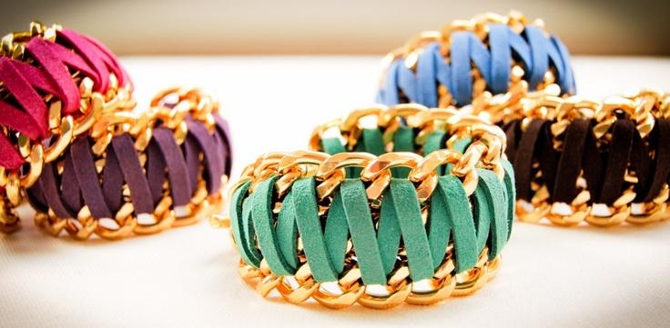 Handmade bracelets in several colors!!