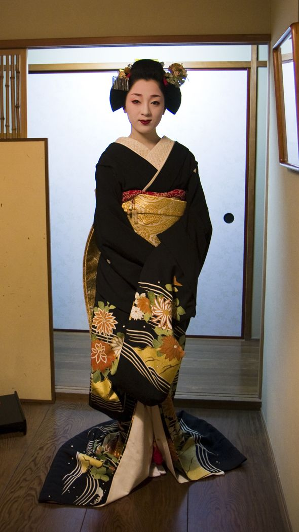 Traditional kimono -------- #japan #japanese #kimono