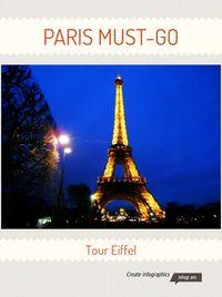 Infographic: PARIS MUST-GO  http://cortesedecotes.blogspot.com