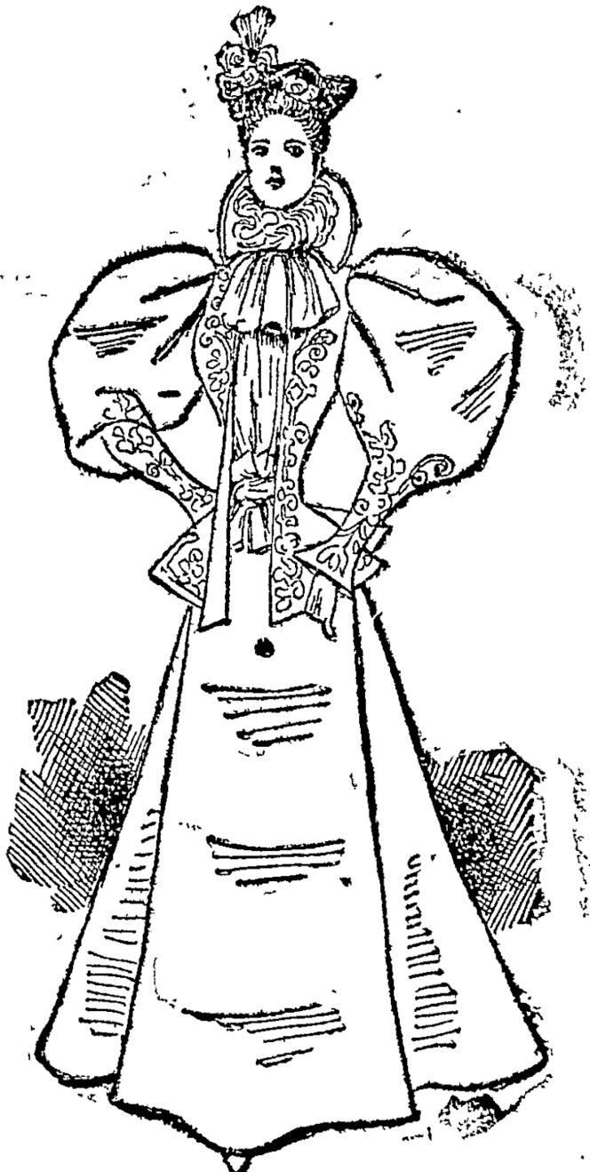 Princess Alexanpra's Travelling Gown. (Auckland Star, 12 September 1896)
