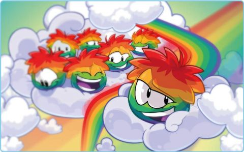 Puffle Party and Rainbow Puffle Coming Soon! | Club Penguin