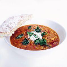 Polévka z červené čočky – A co teda jíš? – Veganské recepty