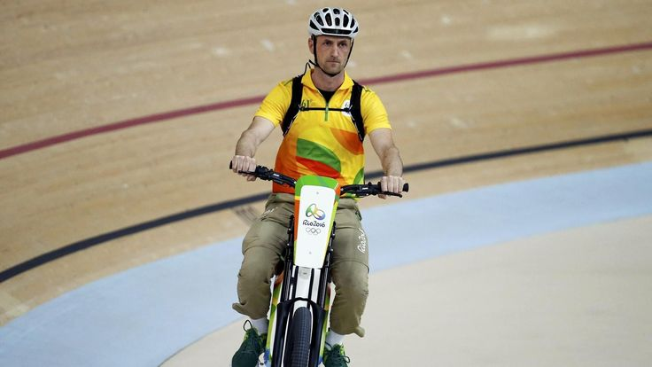 Outrage as motorised bike steals the show in velodrome Derny drama