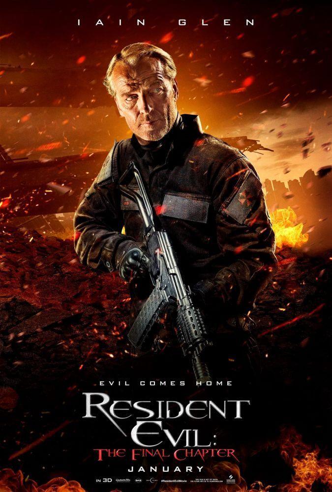 'Resident Evil 6 – O Último Capítulo', baseado no popular jogo de vídeo game da..