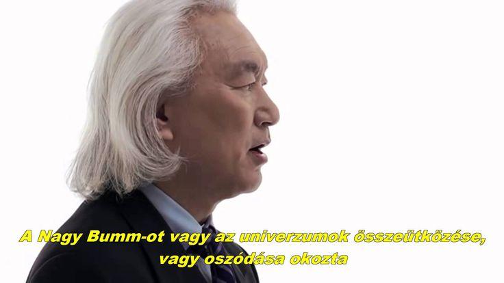 Michio Kaku Professzor a Párhuzamos Dimenziókról