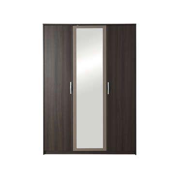 Conforama - Armoire 3 portes GRAPHIC coloris chene vulcano 166€ L138,9 x H192,7 x P54,8 cm 2/3 penderie – 1/3 lingère