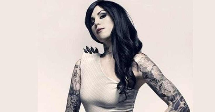 "Photo collection of celebrity Kat Von D, one of the hottest women in Hollywood. Kat started her TV career in 2005 as a star of ""Miami Ink."" She went on to star in LA Ink at her own tattoo shop, High Voltage. She's since been through a handful of celebrity relationships and was mar..."