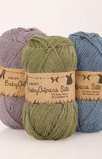 Muestrario de colores DROPS BabyAlpaca Silk ~ DROPS Design