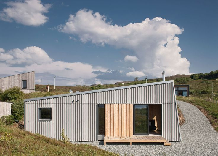 Selfbuild studio by Rural Design Architects nestles into rugged