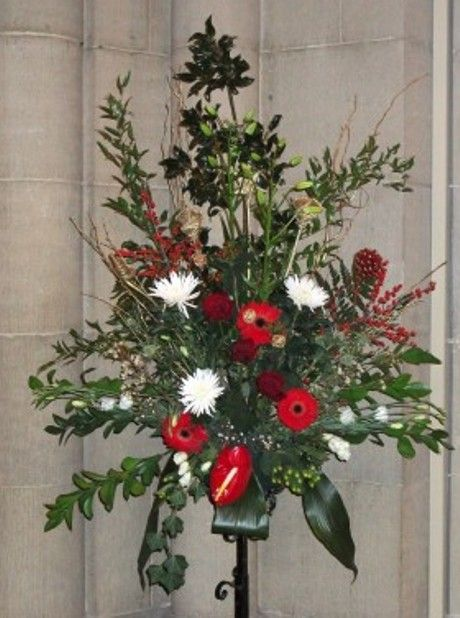 Flower decorations for christmas christmas church for California floral and home christmas decorations