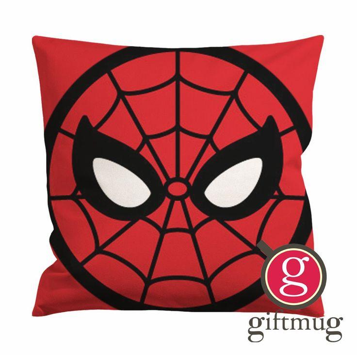 Spiderman Face Cushion Case / Pillow Case