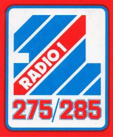 Radio 1 logo (Early 80s)