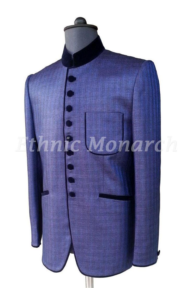 Splendid Blue Jodhpuri