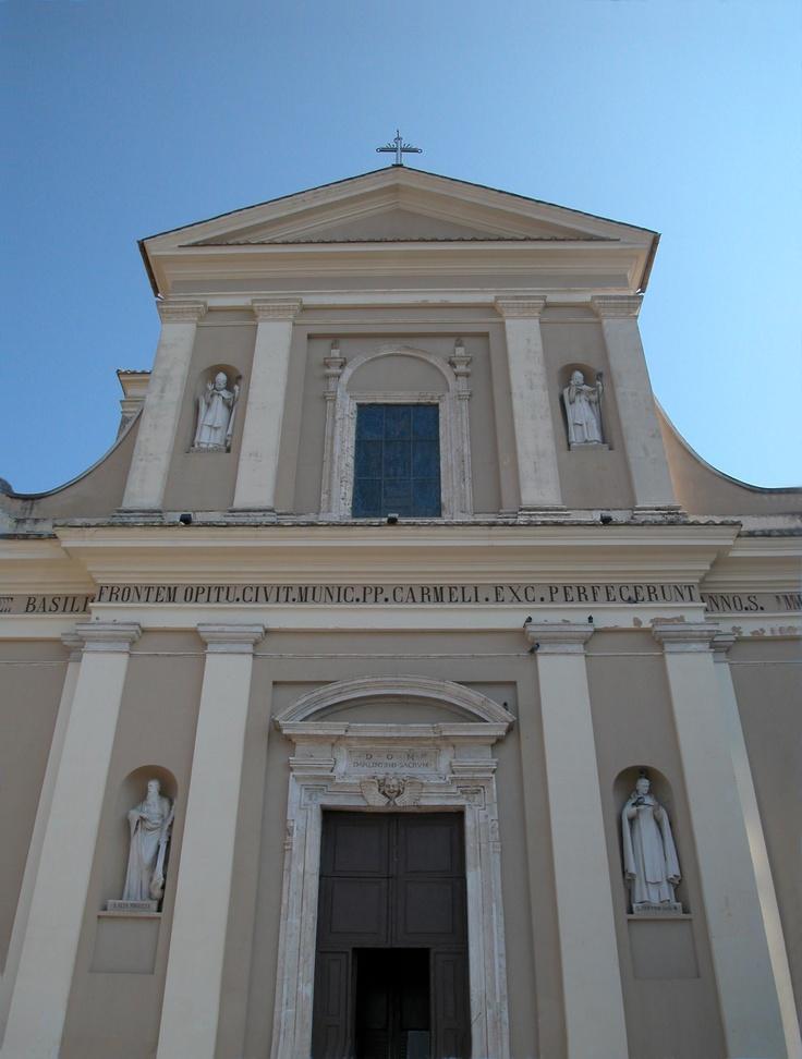 Genuine Basilica of Saint Valentine in Terni, Italy.  Visited several times!