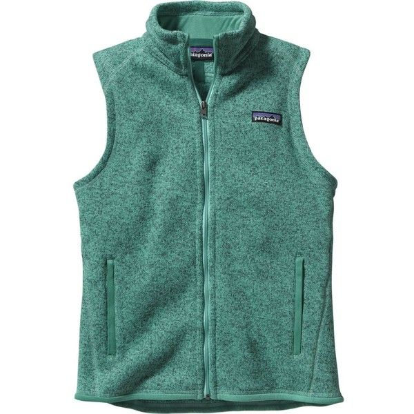 Patagonia Better Sweater Fleece Vest ($99) ❤ liked on Polyvore featuring outerwear, vests, green waistcoat, patagonia vest, green vest, fleece vest and vest waistcoat