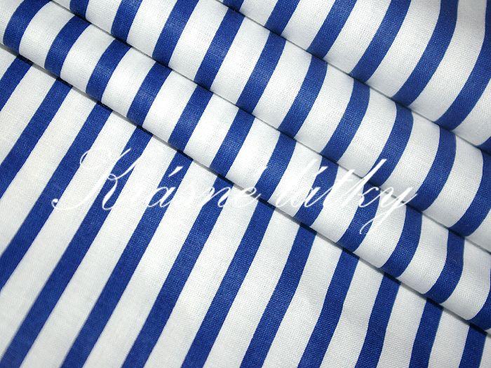 Perfektní námořnický proužek 100% bavlna