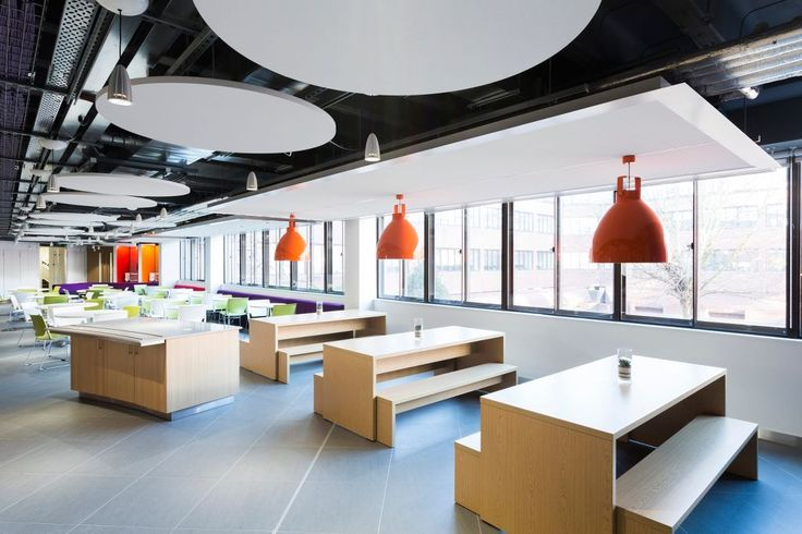 CoFunds, Witham, Essex, Armstrong, sufity podwieszane, ceiling, sufit akustyczny, acoustic, Optima Circle