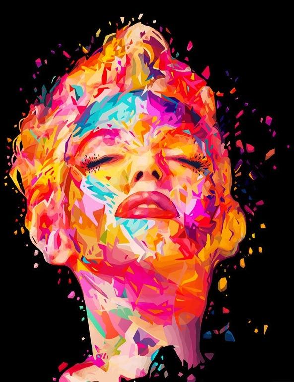 Marilyn Monroe by Alessandro Pautasso #TwentyfiveSeven http://www.twentyfive-seven.com/ http://nosurprises.it/