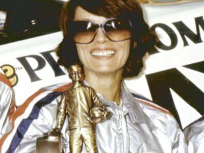 Drag racing legend Shirley Muldowney.
