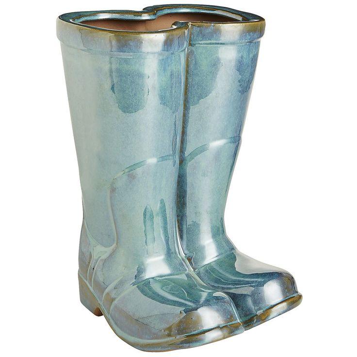 Rain Boot Planter   Pier 1 Imports