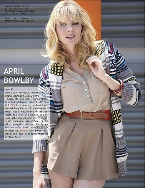 April Bowlby - vintage inspired outfit