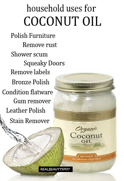 10 household uses for coconut oil - cleaning with coconut oil