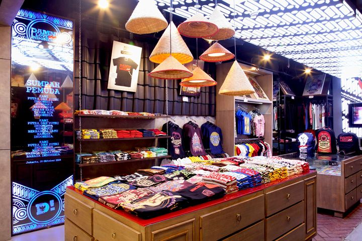 DAMN! I love Indonesia brand store by ACRD, Jakarta – Indonesia