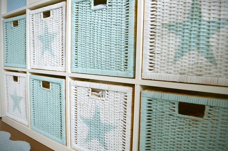 Poner orden con estilo en la habitación del bebé, By Queca Coqueta.