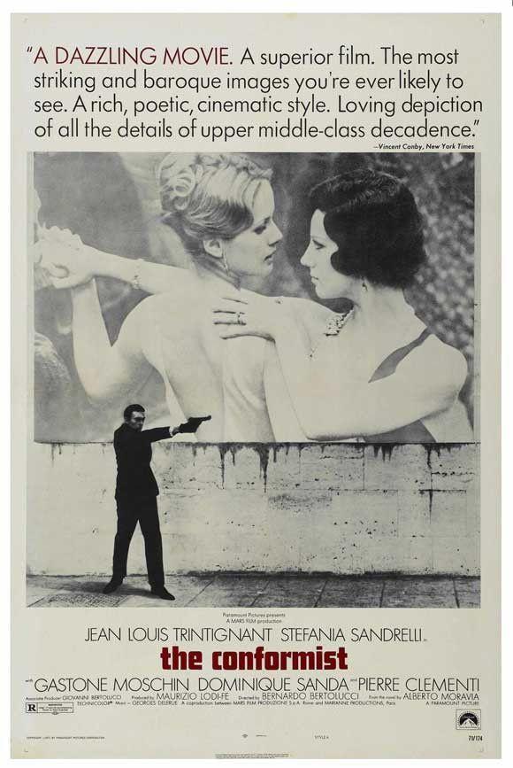 The Conformist 27x40 Movie Poster (1970)