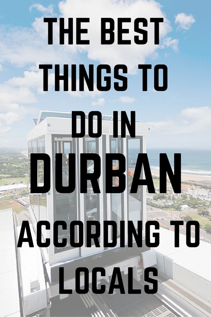 We chatted to some Durban/KZN locals to find out exactly how you should be spending your time in Durban.