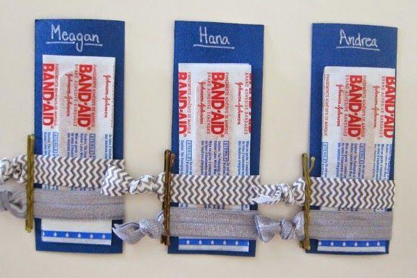 Bridesmaid Emergency Kits {plus DIY Knotted Hair Ties}