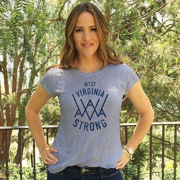 Jennifer Garner is doing everything she can to help flood victims in her home state of West Virginia.  The actress, 44, and Save the Children, for which she is a trustee and longtime supporter, have launched an Omaze t-shirt campaign to raise funds for recovery efforts after historic flash flooding in
