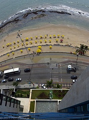 Recife,Brasil view from room 801 at Atlante Plaza