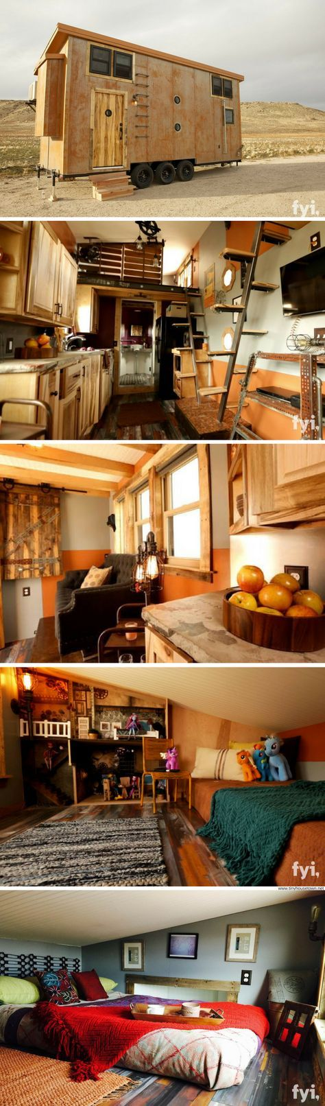 The Steampunk Adventure House (340 sq ft