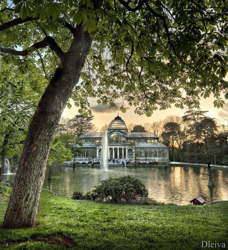 Palacio de Cristal, Madrid, por Domingo Leiva