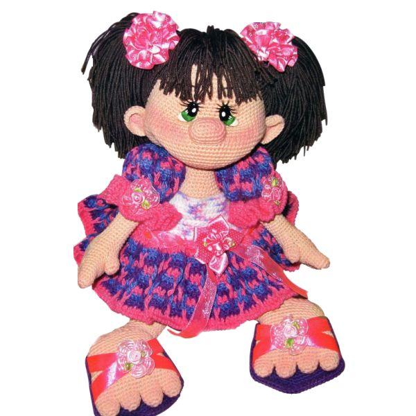 Амигуруми: Кукла принцесса