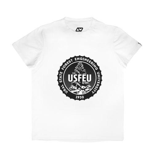 Футболка Ural State Forest Engineering University (Уральский Государственный Лесотехнический Университет)