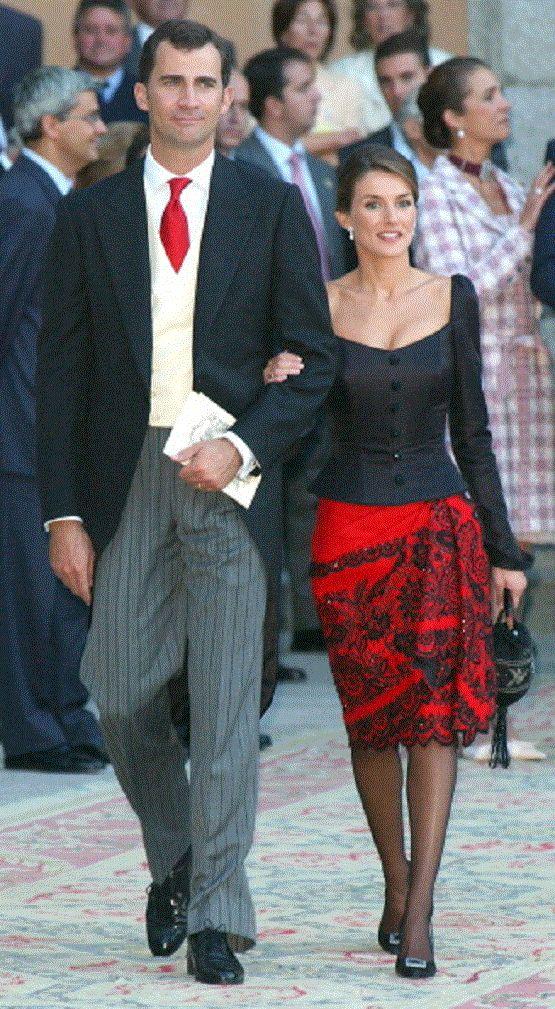 Crown Prince Felipe and Crown Princess Letizia of Spain