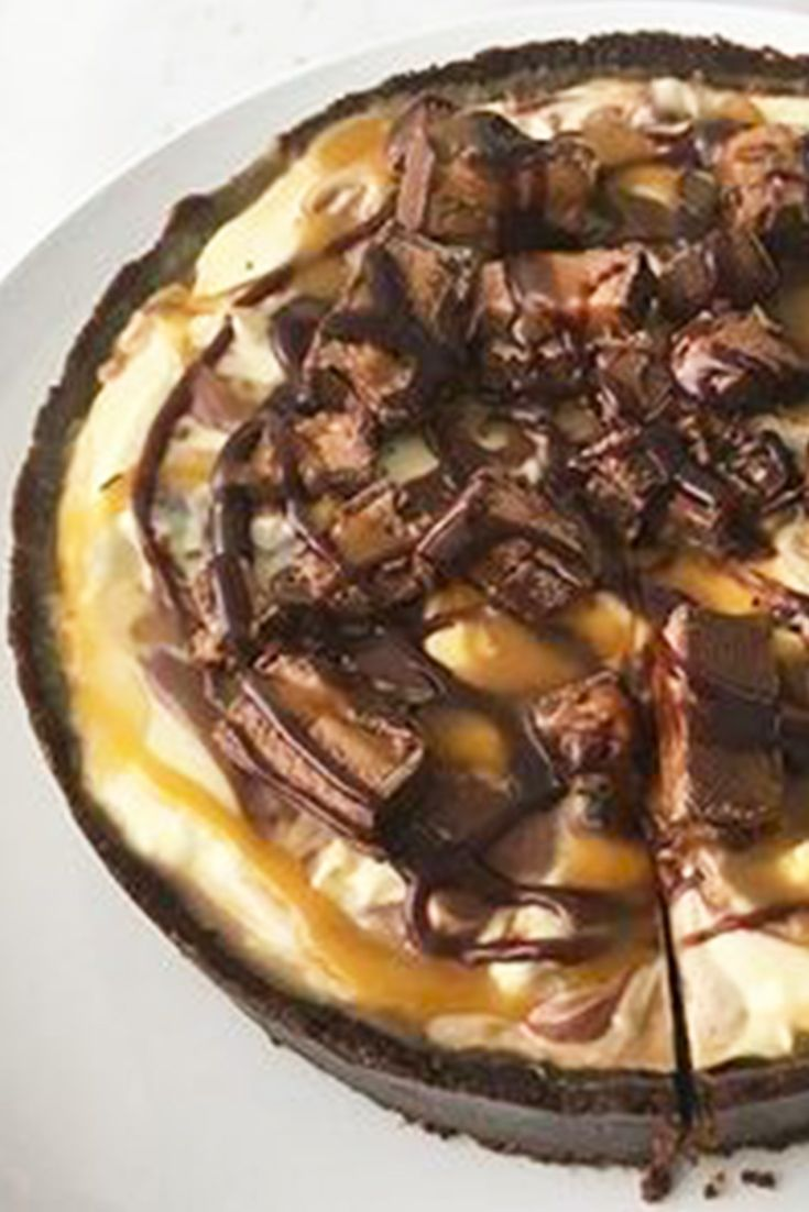 Hear that? That's the sound of everyone enjoying this moreish Mars Bar dessert!