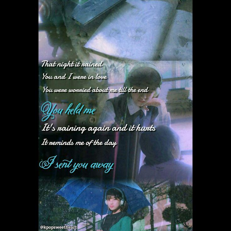 Beakhyun(exo) and soyou(sistar) Song:rain Kpop song lyrics