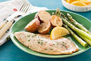 Plat de poisson au four simplissime